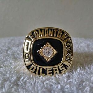 Edmonton Oilers 1984 Championship Ring